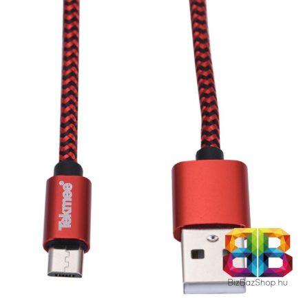 TEKMEE MIKRO-USB 1M NYLON FONAT