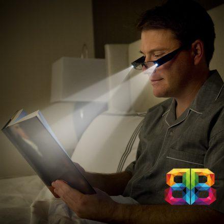 LED-es olvasószemüveg