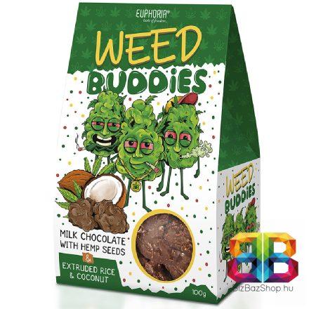 Euphoria Weed Buddiesa kendermaggal – 100g