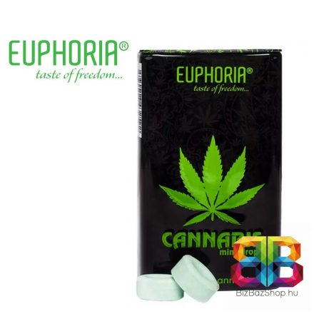 EUPHORIA Cannabis ízű energy cukorka  25g