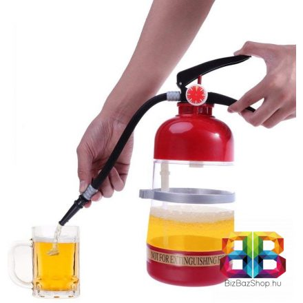 Tűzoltó készülék italadagoló